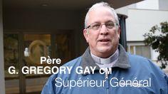 P. Gregory Gay CM - Le message pour le 25 Janvier, 2016 == Dans son message spécial P. Gregory Gay, Supérieur Général de la Congrégation de la Mission donne salutations à tous les membres de la petite compagnie sur l'anniversaire de la fondation et accueille de nouveaux Provinces, reconfigurés de France et l'Italie #NuntiaXpress