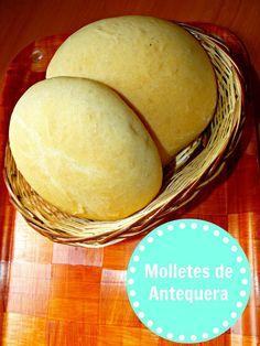 Molletes de Antequera en panificadora paso a paso Actifry, Spanish Food, Bread Recipes, Mexican Food Recipes, Hamburger, Cheese, Angel, Foods, Blog