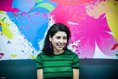 Marina Diamandis at an interview