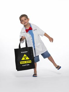 Mad Scientist #Costume and Treat Bag #Halloween