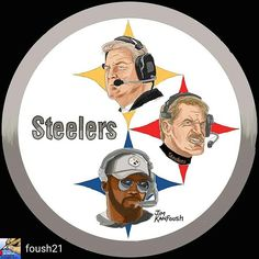 Head Coaches: Chuck Noll, Bill Cowher & Mike Tomlin