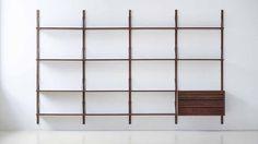 ROYAL SYSTEM® designed by legendary Danish designer Poul Cadovius in 1948. #Royal #System #Poul #Cadovius #1948 #Danish #Design #Furniture www.dk3.dk