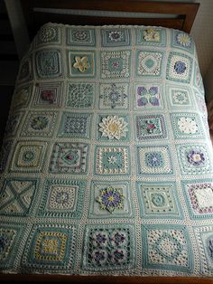 Ravelry: Lettice's English Country Garden Afghan