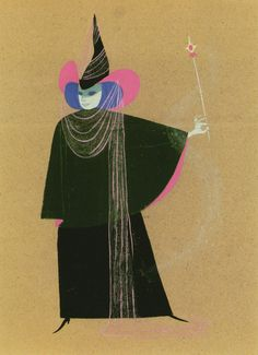 Maleficent Concept Art by Mary Blair