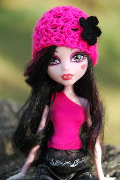 HAT for MH EAH doll various colors by LucieVran on Etsy