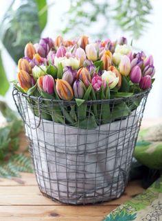Kışın son gününü taptaze bir çiçek buketiyle uğurlayın.  Hoş geldin bahar!