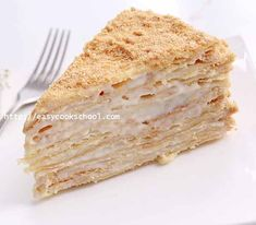 Russian Recipes, Macarons, Vanilla Cake, Great Recipes, Cake Recipes, Nom Nom, Food And Drink, Bread, Baking