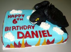 How to Train Your Dragon cake - http://cakecentral.com