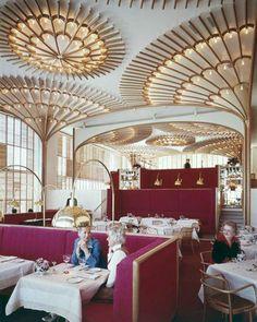 the American Restaurant in KC by Warren Platner