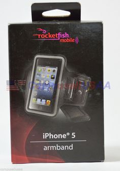 #onsalenow #ebay Rocketfish™ Mobile - Armband Case for Apple® iPhone® 5 and 5s - Black  RF-A5AB2B #Rocketfish #iphone $6.699
