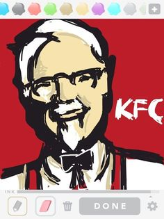 Finger lickin' good. Draw Something, Kfc, Finger, Awesome, Fictional Characters, Fingers, Be Awesome, Fantasy Characters, Toe