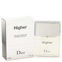 Higher Cologne By Christian Dior EDT Spray 1.7 Oz (50 Ml) For Men