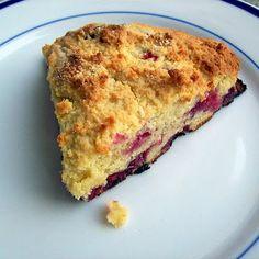 HCG Diet (P3) Almond Flour Raspberry Scones