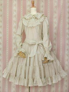 Victorian maiden コットンフリルドールドレス