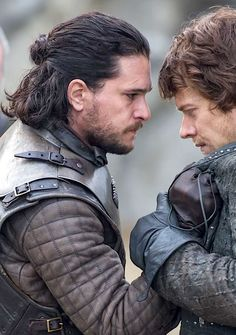 Jon Snow & Theon Greyjoy | Game of Thrones