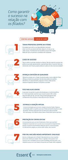 Partido político: 7 dicas de ouro para garantir o sucesso na relação com os filiados