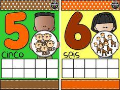 la maestra Estralla Leyva  nos regala estos números     Sólo da clic en las imágenes para descargarlas