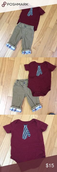 Old Navy Baby Boy Gray Cotton Shorts Size 0-3 Months Boys' Clothing (newborn-5t) Bottoms Euc Firm In Structure