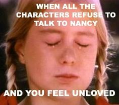 SO true. (Her Interactive Nancy Drew games)