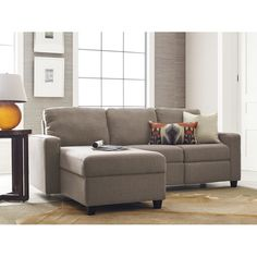 Palisades Reclining Sectional Sectional Sofa With Recliner, Reclining Sectional, Chaise Sofa, Couches, Sofas, Couch Sofa, Small Living, Living Spaces, Comfortable Couch
