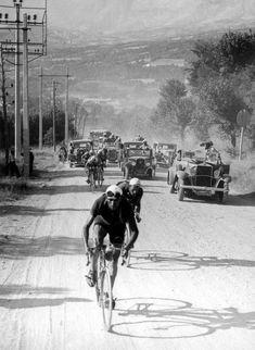 "classicvintagecycling: ""Tour de France, 1934 """