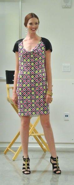 NV Nick Verreos Polka Dot Cap Shawl Sleeve Mini Dress NWT Sz XS S M L #NickVerreos #Shift #Casual