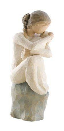"""Enesco Willow Tree Figurine """"Ange gardien"""""""