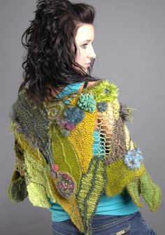 Freeform leaf shawl | Flickr - Photo Sharing!