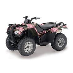 Mossy Oak Break-Up Pink Camo ATV Wrap