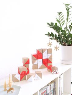 Cool and simple Advent...use our espresso cups as advent lights ...
