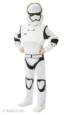 Deluxe Stormtrooper Teens The Force Awakens Star Wars Costume.