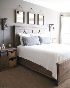 """This entire DIY Bedroom Set is on our site now ❤️ Click the link in our profile to get the FREE…"""""""