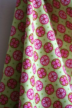 Clover Dot from Michael Miller Fabrics  ONE HALF by sewfinefabric, $4.00