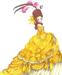 Belle by Cotovatre.deviantart.com on @deviantART