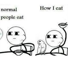 Bird owners can relate. lol
