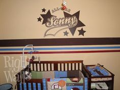 All Star Sports Vinyl Wall Decals by RightOnTheWalls on Etsy, $39.95