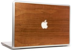 Walnut laptop cover