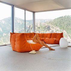 Ligne Roset - Togo sofa. Coming someday to larchhouse.