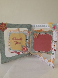 Old Red Shed: karen Burniston accordion album thank you card...