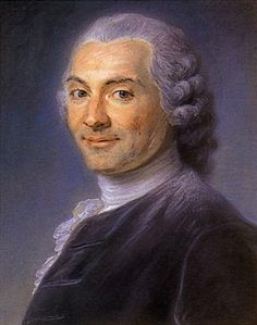 Charles Maron, a lawyer in parliament, mid 18th century by Maurice Quentin de La Tour (1704-1788)