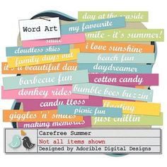 clipart Clip Art Library, Family Day, Beach Fun, Word Art, Daydream, Stencils, My Favorite Things, Fonts, Frames