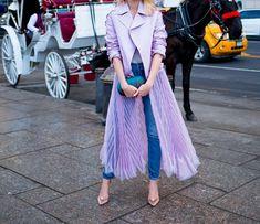 sheer feminine street style genny.com Fashionista Street Style, Tulle, Feminine, Skirts, Women's, Tutu, Skirt, Gowns