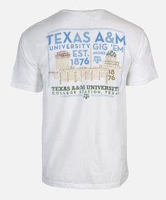 Texas A&M Skyline T-shirt #AggieGifts #AggieStyle
