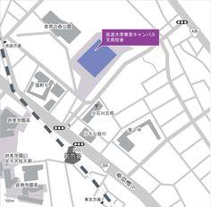 東京キャンパス文京校舎 アクセスマップ