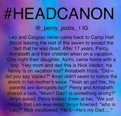 PJO/HoO headcanon