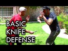 How to Defend Against a Knife Attack with Nick Drossos - Learning how to defend against a knife attack is scary, but necessary! In this video, self-defense expert Nick Drossos shares a few basic knife defense tips that might save your life. Krav Maga Self Defense, Self Defense Tips, Self Defense Techniques, Krav Maga Kids, Learn Krav Maga, Krav Maga Techniques, Israeli Krav Maga, Martial Arts Weapons, Martial
