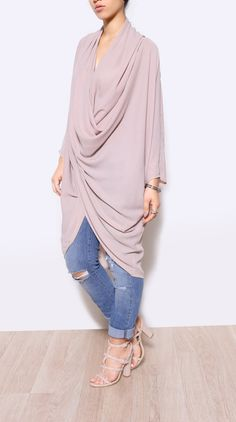 Draped Top · Chic Bella's Virtual Closet · Online Store Powered by Storenvy