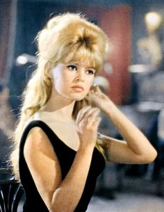 Brigitte Bardot classic hairstyle 60's