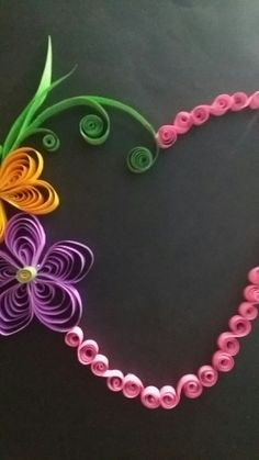 Quilling  is fun