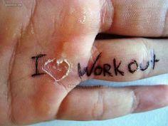 Rips...gymnastics and lifting...
